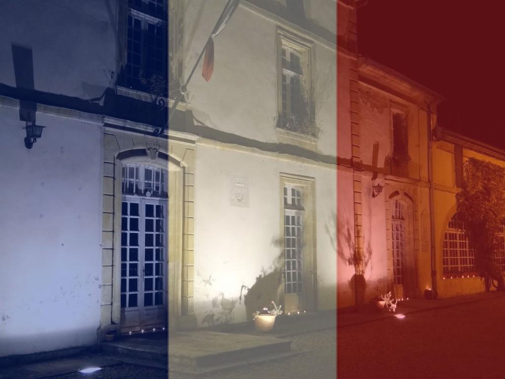attentat 13 novembre drapeau