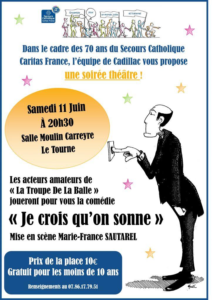 Affiche Théâtre 11 Juin - Treansmission Réseau